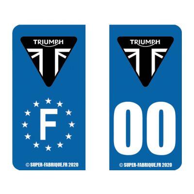 Stickers pour plaques...