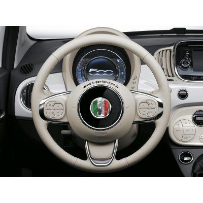 Stickers pour volant Fiat 500