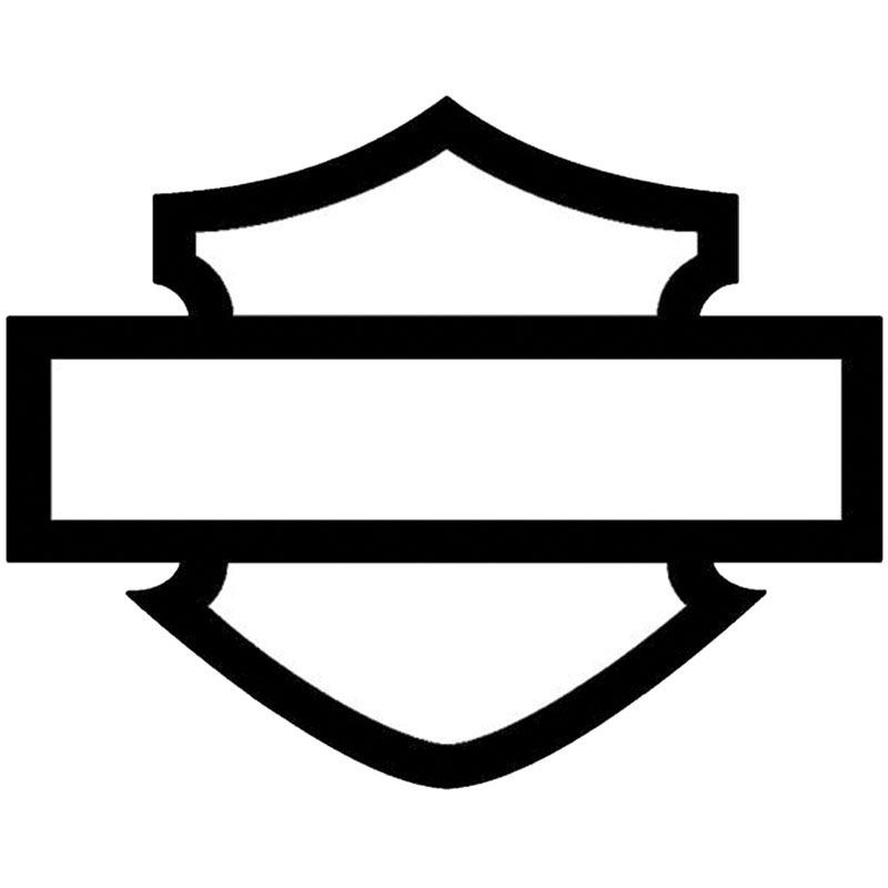 Stickers pour casque de moto harley Davidson