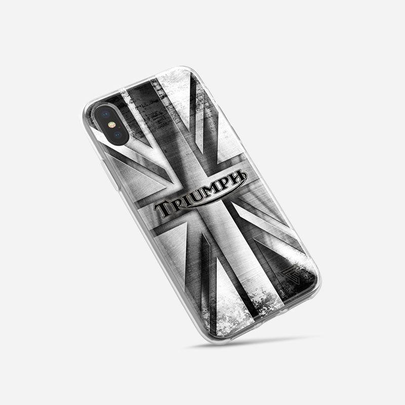 Coque case téléphone iphone logo triumph