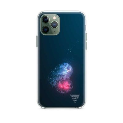 Coque pour iphone 11 coeur