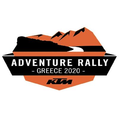 Stickers KTM rally Grece 2020