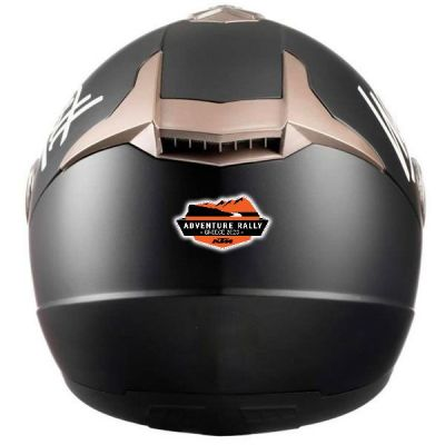 Stickers casque moto KTM rally 2020