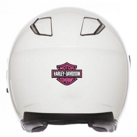 Stickers rétro éclairant Harley Davidson Rose