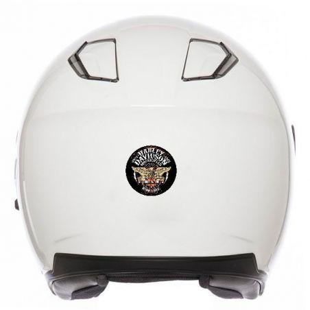 Autocollant rétro éclairant déco casque moto Harley davidson