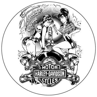 Stickers vintage Harley...