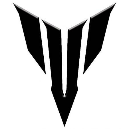 Logo MT 07 pour casque de moto