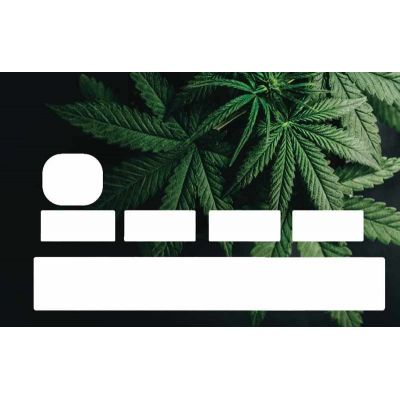 Stickers Feuilles Cannabis