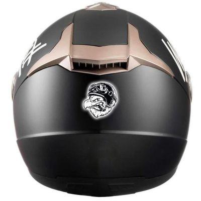 Sticker pour casque de moto