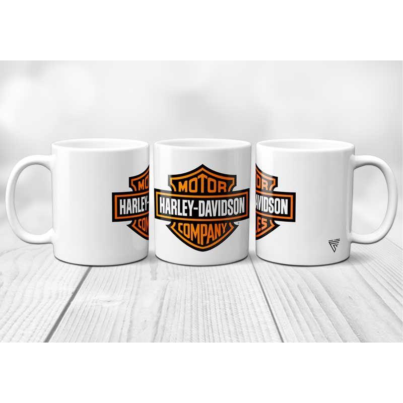 Mug Harley Davidson logo