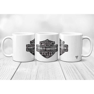 Mug Harley Davidson logo...