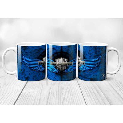 Mug Harley Davidson Bleu