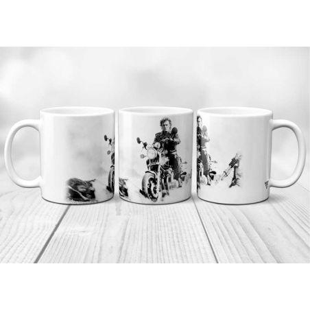Mug Johnny Hallyday Harley Davidson