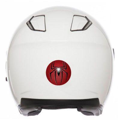 Sticker déco casque moto Spiderman