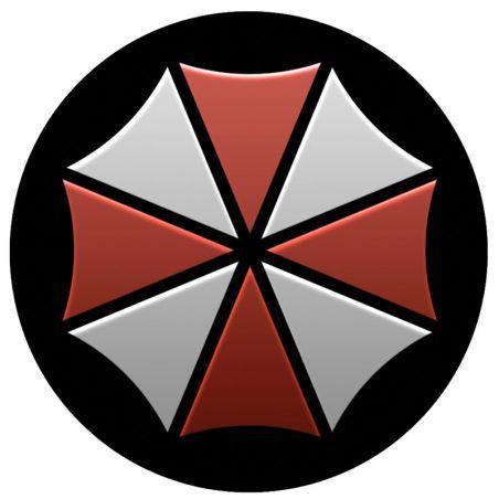 Sticker pour casque de moto Resident Evil Umbrella