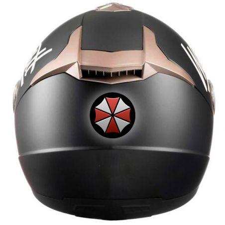 Autocollant resident evil deco casque moto