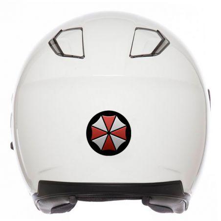 Stickers autocollant casuae moto retro éclairant