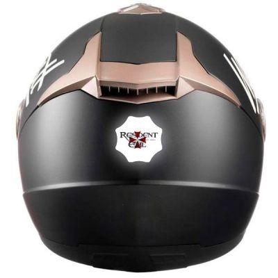 Stickers casque moto retro éclairant