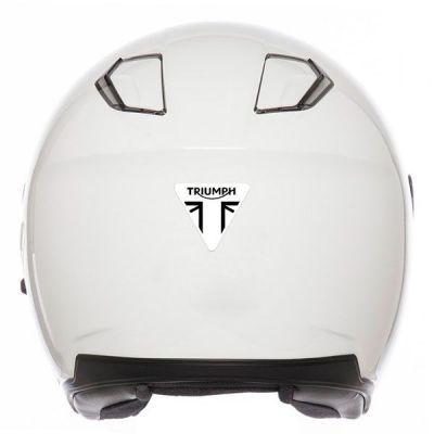 Autocollant rétro luminescent casque moto Triumph