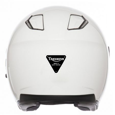 Sticker autocollant casque moto
