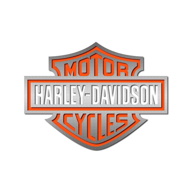 Autocollant Harley Davidson pour casque de moto