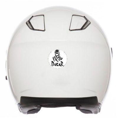 Sticker casque moto rétro...