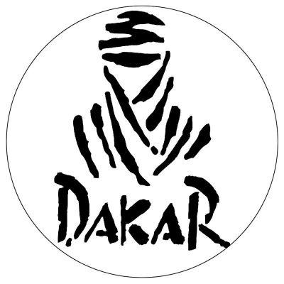 Sticker casque moto Dakar