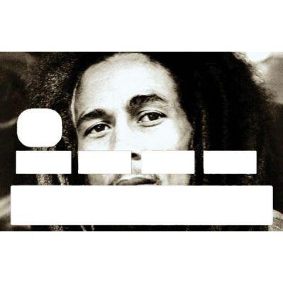 Sticker Bob Marley pour cb