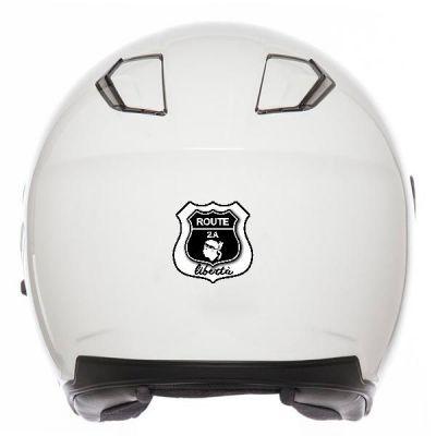 Sticker casque moto Corse...