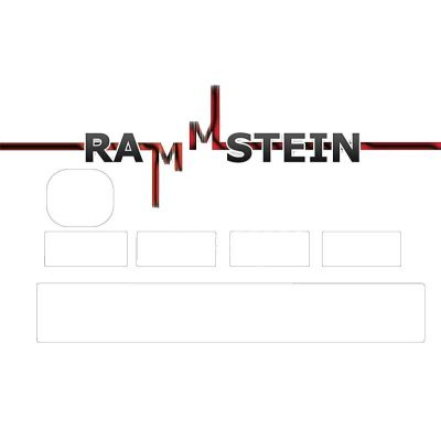 Sticker CB Rammstein