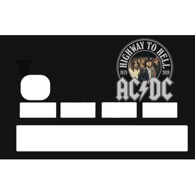 Sticker CB AC DC
