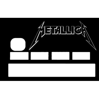 Sticker CB Metallica