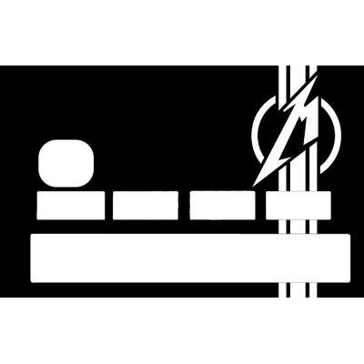 Sticker CB Metallica