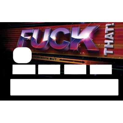 Sticker CB Fuck