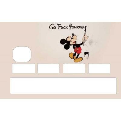 Stickers cb Mickey Go Fuck