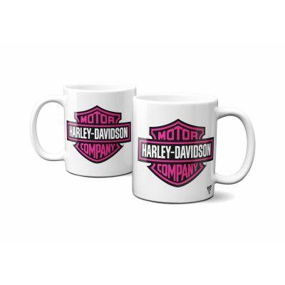 Mug Harley Davidson Rose