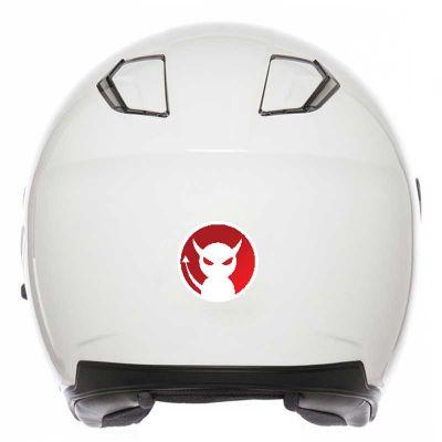 Sticker Diable pour casque...