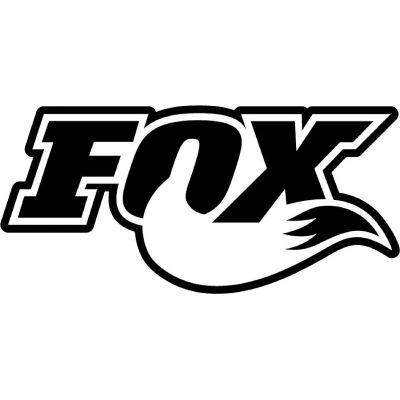 Sticker autocollant Fox