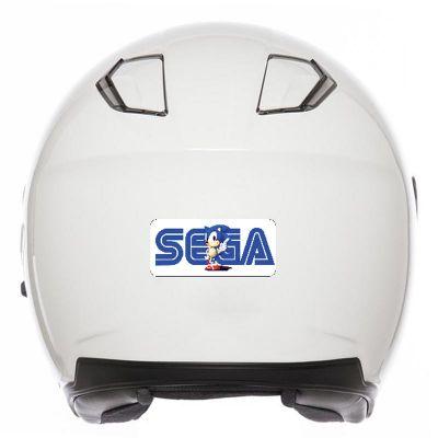 Stickers casque moto SEGA