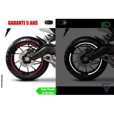 Liserets Jantes moto Rétro...