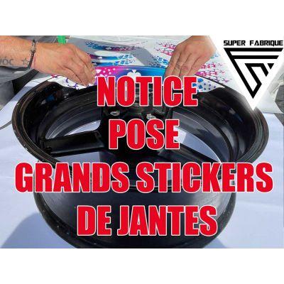 Notice de pose stickers...