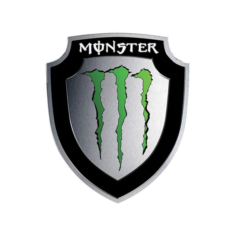 Stickers rétro éclairant Monster