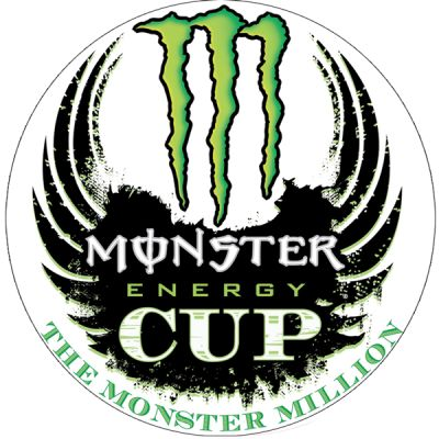 Stickers Monster cup