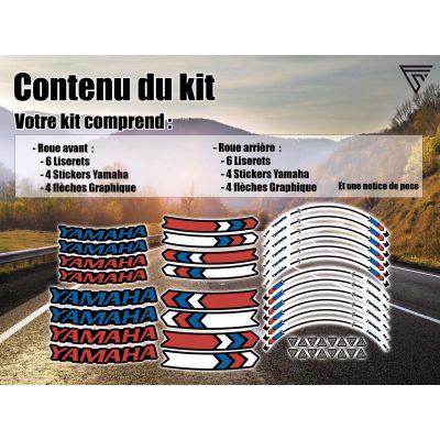 Kit Stickers jantes moto...