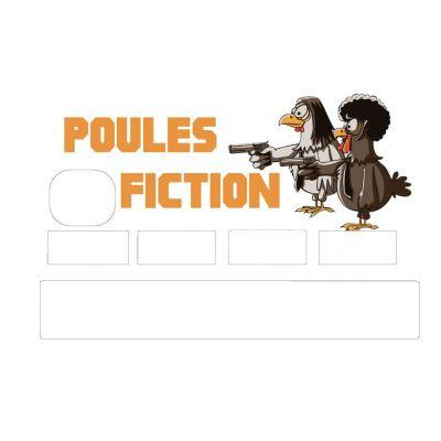 Stickers CB Parodie Pulp...