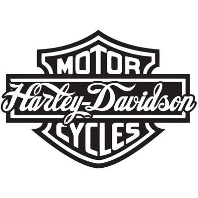 Stickers Harley Davidson Rétro réfléchissant