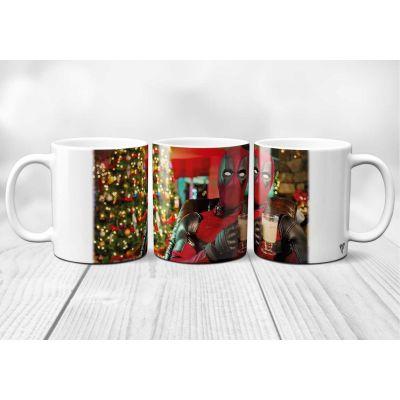 Mug Deadpool Noël
