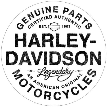 Stickers décoration de casque moto Harley Davisdon