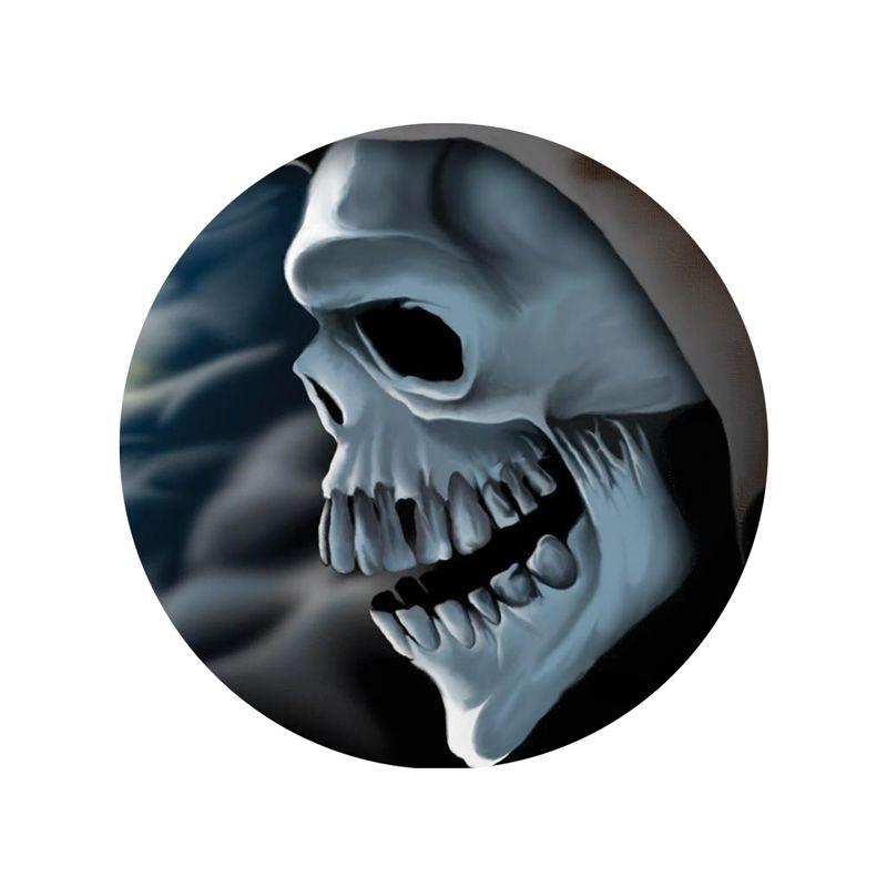 Stickers tete de mort casque moto