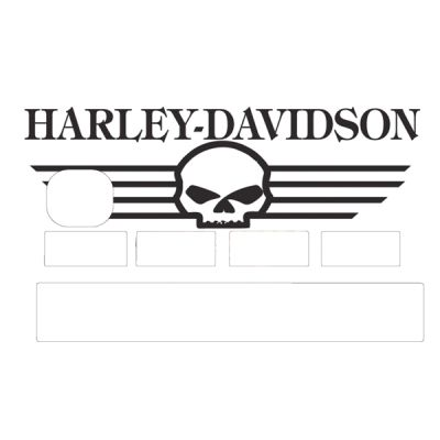 Stickers CB Harley Davidson